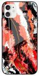 Babaco üveg hátlap - iPhone 7 / 8 / SE2 - Abstrakt 024