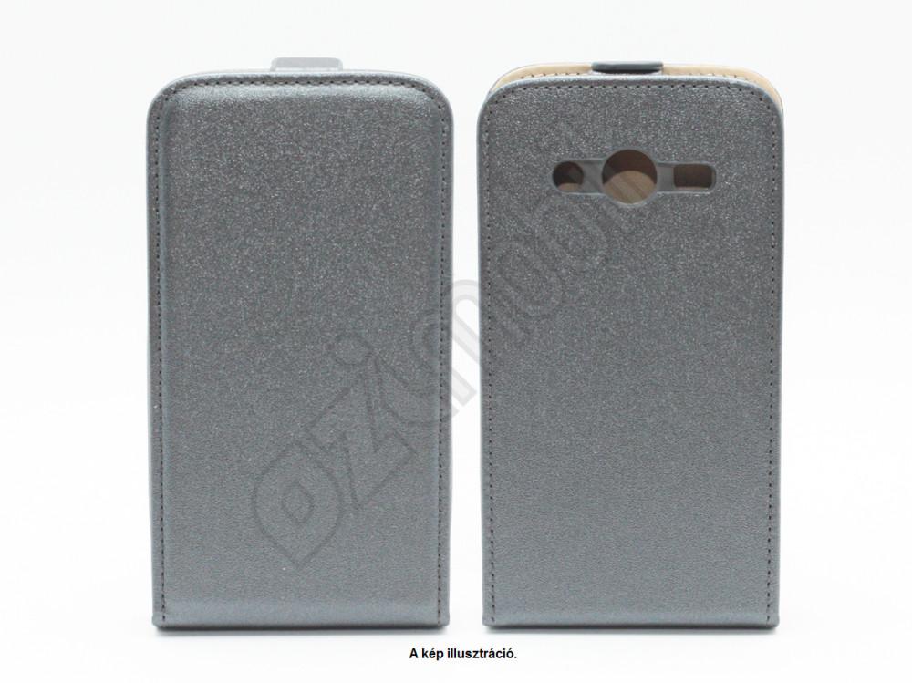 Flexi Slim flip tok - Samsung Galaxy Core 2   G355 - grafitszürke ... 34db7513ab