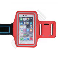 Armband Slim Case (karra rakható tok) - (6,0) - piros