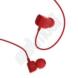 Remax vezetékes headset - RM502 - piros