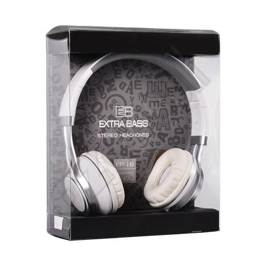 UGY Headset - Extra Bass EP16 - fehér - Ozimobil Webáruház a512c59cde