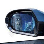 Eső lepergető fólia - 0,15 mm Ovális Hidrofób film - autó tükörhöz