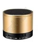Metal Hordozható Bluetooth Hangszóró Rádióval - arany