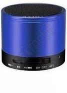 Metal Hordozható Bluetooth Hangszóró Rádióval - kék