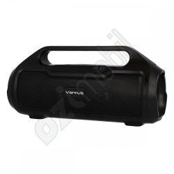 Vennus TWS BM02 Hordozható Bluetooth Hangszóró Rádióval - fekete