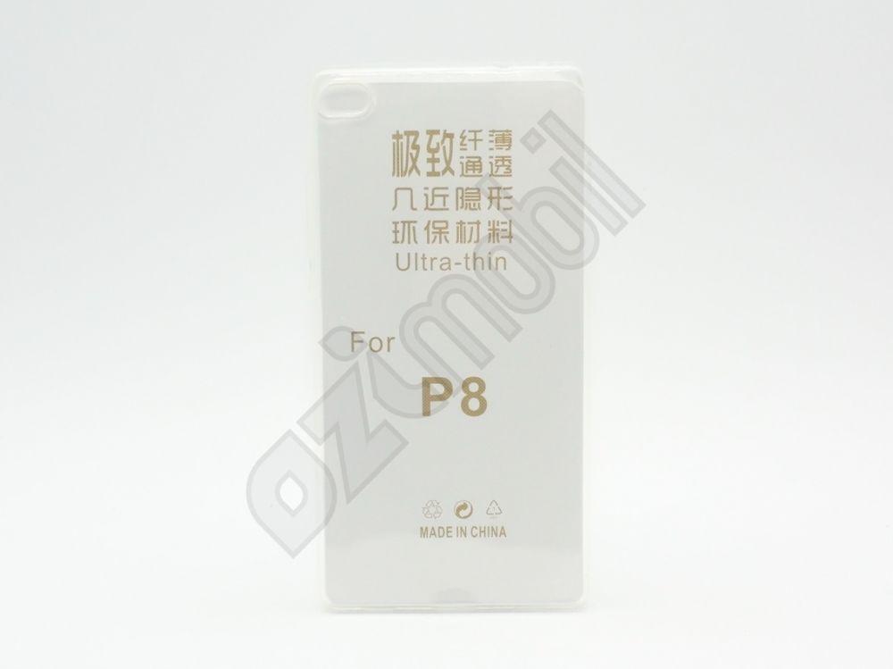 Ultra Slim - Huawei P8 - szilikon tok - átlátszó - Ozimobil Webáruház aee0a20aff