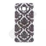 TPU Design szilikon hátlap - iPhone 6 / 6s - fekete minta
