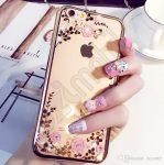 Diamonds TPU hátlap - Samsung Galaxy S7 Edge / G935 - virágok