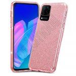 TECH PROTECT Glitter szilikon tok - Huawei P40 Lite - pink