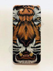 Fashion hátlap - iPhone 5 / 5S / SE - Tigris