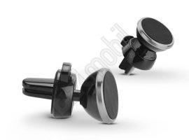 Univerzális szellőzőrácsba illeszthető mágneses PDA / GSM autós tartó - állítható fejjel